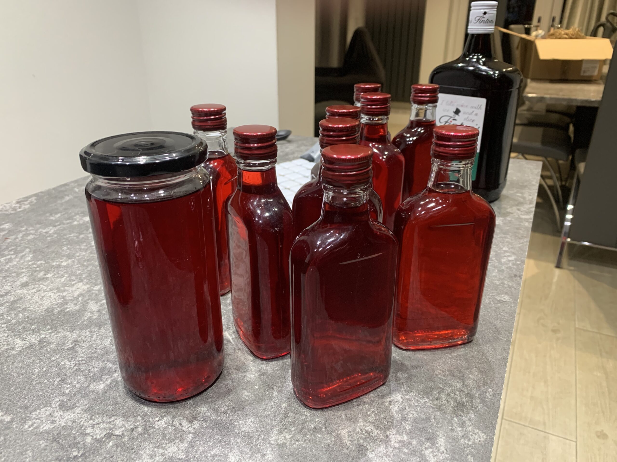 SLOE GIN COMPLETION